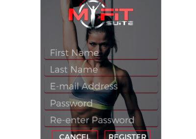 MyFitSuite3 - Register