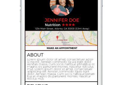 MyFitSuite4 -Practitioner-Profile