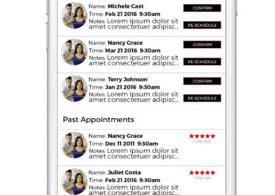 MyFitSuite5 -Practitioner-Appointments