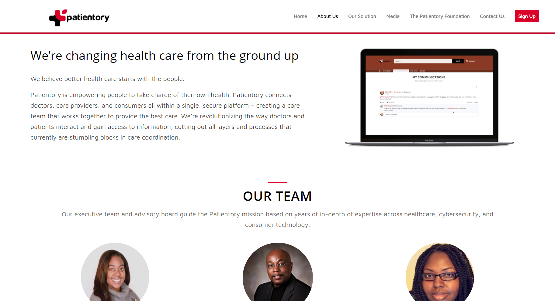 remhai-patientory-built-website-about